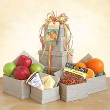 Fruit And Cheese Gift Baskets Fruitful Greetings Gourmet Gift Basket Good Fresh Fruits