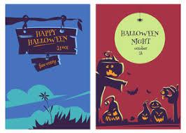 retro happy halloween stamp vector royalty free stock image