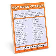 knock knock parking citation nifty note knock knock amazon ca
