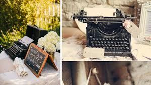 mariage vintage machine a ecrire mariage vintage le d une organisatrice de