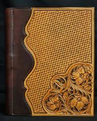 custom leather photo albums custom leather tooled photo albums search all things