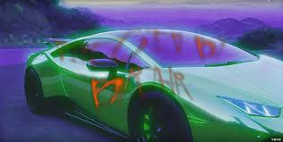 Lamborghini Huracan Green - green lamborghini huracán u2013 travis scott u2013 butterfly effect