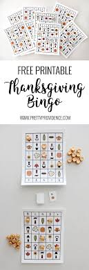 free printable thanksgiving bingo thanksgiving free printable