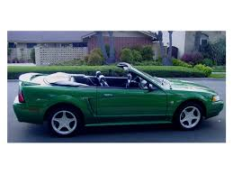 1999 ford mustang 35th anniversary edition 1999 ford mustang gt convertible 108206