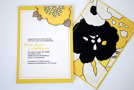 design invitations sewn half flower leaf fabric wedding invitations with