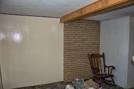 snapshots of a kansas farm transformation tuesday basement wall