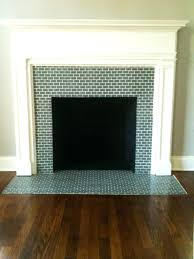 tile fireplace surround design pictures glass ideas tiled fire