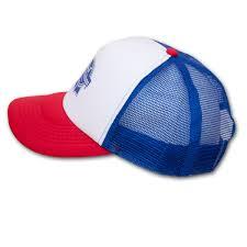 white blue ribbon pabst blue ribbon pbr trucker hat white blue