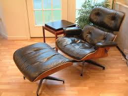 vintage eames lounge chair and ottoman attractive eames lounge regarding chair replica barcelona designs