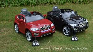 bmw jeep red remote power wheels kids ride on bmw x6 suv youtube