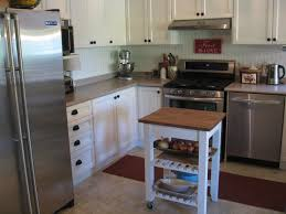 Very Small Kitchen Storage Ideas Well Liked Small White Butcher Block Island Storage With White