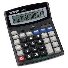 victor 1190 executive desktop calculator 12 digit lcd walmart com