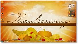 windows 7 thanksgiving theme themes