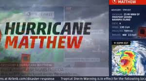 Airbnb Florida by Hurricane Matthew Live Fort Lauderdale Florida Youtube