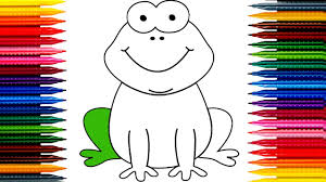 dora the explorer coloring pages how to draw a frog dora the explorer mickey mouse learning