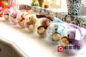 candy apple boxes wholesale wholesale candy wedding favors cm clear candy box