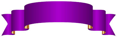 purple ribbons purple banner transparent png clip image gallery yopriceville