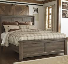 Ashley Bedroom Sets Signature Design By Ashley Juno Transitional Queen Panel Bed