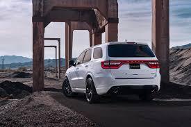 Dodge Durango White - 2018 dodge durango srt white exterior rear side quarter