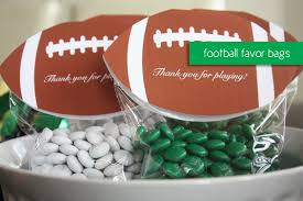 football favors football party ideas kristi murphy diy