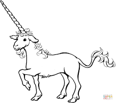 unicorn coloring free printable coloring pages