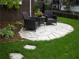 Faux Stone Patio by Installing Flagstone Patio Pavers Patios Home Decorating Ideas