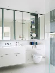 Bathrooms With Mirrors by Cabinet Over Toilet With Mirror Bathroom Contemporary With