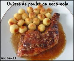 cuisses de poulet au coca cola ghislaine cuisine les yeux