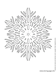 giant snowflake coloring pages printable