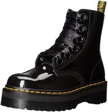 womens boots dr martens amazon com dr martens s molly combat boot ankle bootie