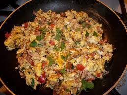 dinner egg recipes delicious egg scramble quick dinner or breakfast shareen s food