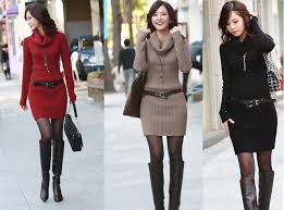unique and fashionable sweater dresses for women collections