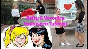 betty and veronica diy halloween bff costume youtube