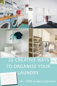 25 creative ways to organise your laundry blog home organisation