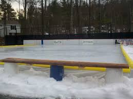 Backyard Rink Ideas Backyard Rink Bench Design Ideas How To Build Backyard Rink