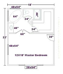 master bedroom and bathroom floor plans dimensions of a master bedroom ghanko