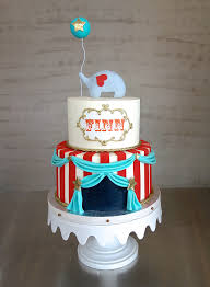 circus baby shower vintage circus baby shower cake sasa flickr