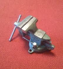 Woodworking Bench Vise Made In Usa by Vintage V15 Made In Usa Swivel Base Anvil Bench Vise 3 1 2