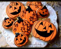 Halloween Pumpkin Sugar Cookies - decorated assorted halloween cookies frankenstein mummy