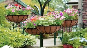 lovely hanging flower and vegetable garden design ideas youtube