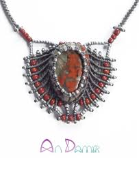 boho style necklace images Boho style necklace jewelry raya by andamir jpg