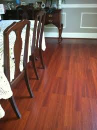 12mm Laminate Flooring With Pad by Castello Silence Brazilian Cherry Laminate Flooring Photo