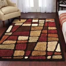 flooring black shag lowes rug on cozy dark hardwood floor and