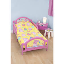 Peppa Pig Toddler Bed Set Character World Peppa Pig Seaside Junior Bedding Bundle Kiddicare