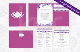 pocket fold purple lace 01 pocket fold wedding invitation kalidad prints and