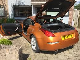 nissan 350z japspeed exhaust used 2004 nissan 350z v6 for sale in gwent pistonheads