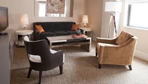 nyc hotel with balcony terrace suite the benjamin terrace suite living room living area in manhattan hotel one bedroom deluxe suite suite