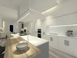 Minimalist Kitchen Designs Lighting Oriental Minimalist Kitchen With Led Kitchen Ceiling