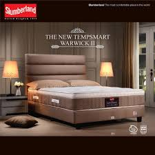 Warwick Bed Frame Buy Slumberland Tempsmart Warwick Ii Bed Set Furniture