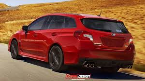 subaru wagon 2015 subaru wrx wagon rendered digital trends